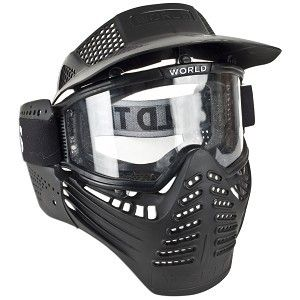 World Tech Arms Airsoft Survivor Full Face Mask w Goggles NEW