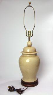 Frederick Cooper Mid Century Modern Pottery Ceramic Ginger Jar Lamp