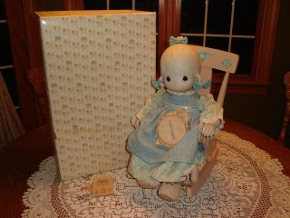Precious Moments Mother Sew Dear Doll E 2850 Mint in Box with Tag