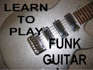Learn Funk Guitar DVD Video Lessons Be A Solid Player