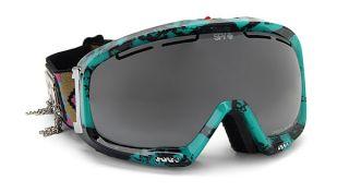 Spy Bias Goggles Navajo Bronze Silver Mirror Ski Snowboard New