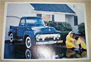 1954 Ford F100 Pickup truck print