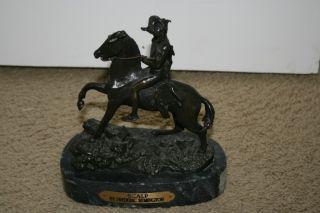 Frederic Remington Bronze Sculpture Scalp