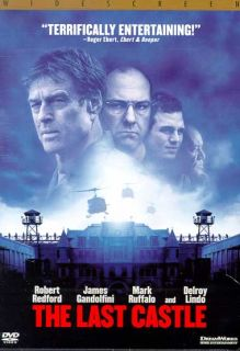 Last Castle Robert Redford James Gandolfini DVD 2002 Widescreen