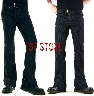 Gangsta Pranksta Black Gothic Wedding Steampunk Vampire Jeans Pants