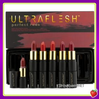 Fusion Beauty Ultraflesh Perfect Reds Mini Lipstick Set 6x Mini