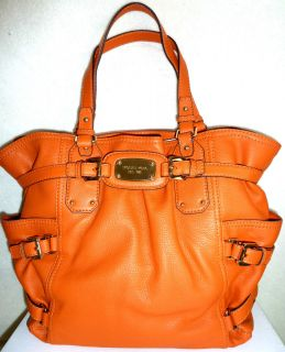 BNWT MICHAEL KORS GANSEVOORT LARGE LEATHER SATCHEL HANDBAG TOTE
