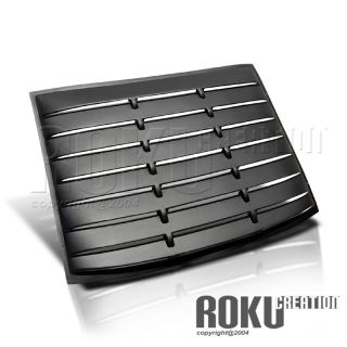 Ford Mustang V8 V6 GT 05 09 Rear Window Louver Saleen