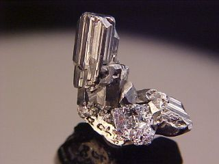 Updated Classic Stephanite Crystal Freiberg Germany