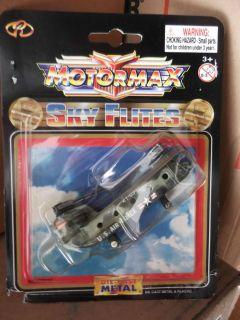Motormax Sky Flites Die Cast Metal Helicopter 63000