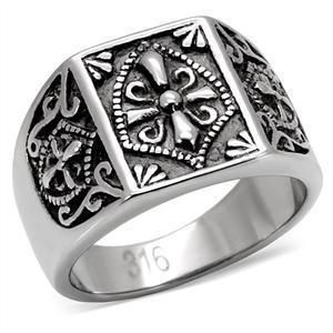 STAINLESS STEEL FREEMASON MASTER MASON MASONIC TEMPLAR KNIGHTS RING 9