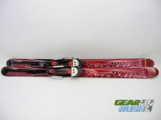 Atomic Teledaddy Telemark Ski 163cm Voile Hardwire 3 Pin Bindings