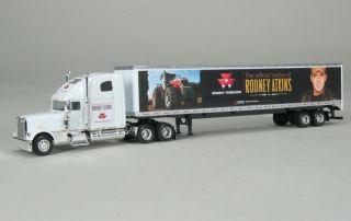 Massey Ferguson Freightliner Semi Trailer Rodney Atkins Edition 1 64