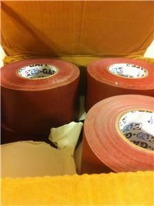 Pro Gaffer Multi Purpose Vinyl Coated Cloth Tape Burgundy 12 Rolls 4