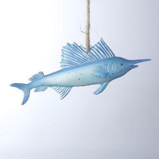Gaither Swordfish Christmas Tree Ornament Ocean Fishing Seachore Beach