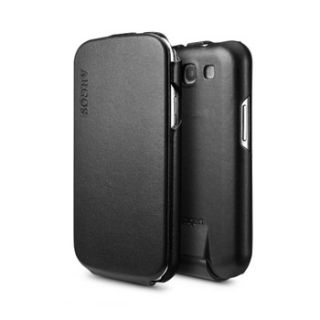 SPIGEN SGP Samsung Galaxy S3 Leather Case Argos Series Black
