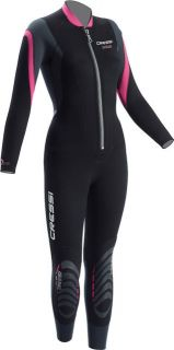 Bahia 2 5mm Womens Front Zip Full Wetsuit Size XS Ships Free