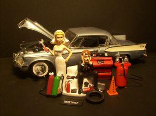Auto Mechanic 1958 Studebaker Golden Hawk got Wrench Wedding Cake