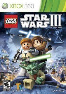Xbox 360 Game Lego Star Wars III 3 The Clone Wars Brand New SEALED