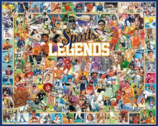 Sports Legends 1000 Piece Jigsaw Puzzle Ball Game New