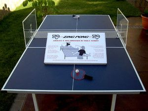 Pong Extreme Table Tennis Game 2 Power Paddles and All Hardware