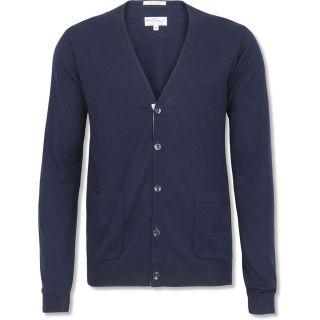 Gant Rugger Tape Cardigan Sz XL L s Wool Blend Cardigan Sweater $134