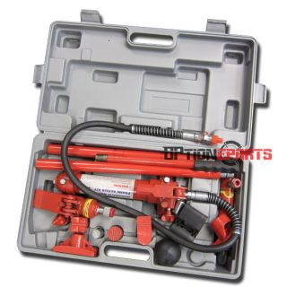 Ton Hydraulic Porta Power Kit Body Frame Repair Tool