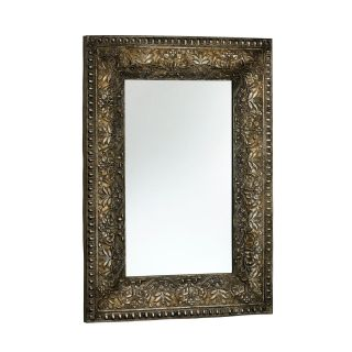 Traditional Embossed Frame Large Mirror