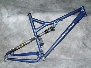 HiFi Pro Full Suspension Mountain Bike FRAME & Fox Shock Carbon & Al