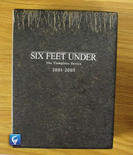 SIX FEEL UNDER COMPLETE SERIES 2001 2005   DVD   GOOD CONDITION