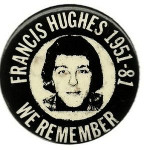 FRANCIS HUGHES, I.R.A. IRISH REPUBLICAN ARMY PIN