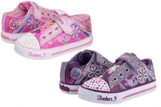 SKECHERS S LIGHTS SHUFFLES FUNKADELIC GIRLS SHOES