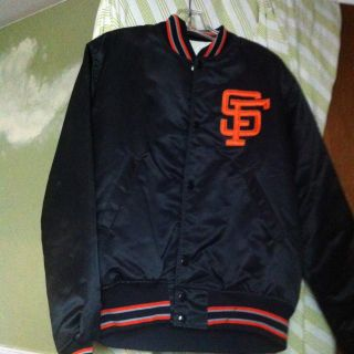 Vintage San Francisco Giants Starter Jacket Size Medium Excellent