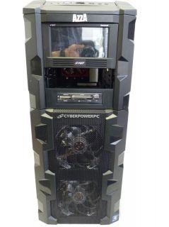 Azza Fusion 3000 Black ATX Full Tower Case w Aerocool V12XT Panel