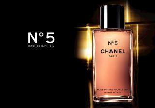 Chanel 400ml 13 5 FL oz No 5 Intense Bath Oil Glass Bottle Small Ding