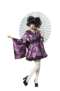 Lovely Lolita Japanese Geisha Adult Halloween Costume