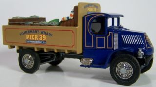 1920 AC MACK FISHERMANS WHARF PIER 39 DELIVERY TRUCK MOY YY030A/SB M