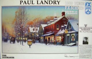 Maker by Paul Landry 1000 PC Jigsaw Puzzle FX Schmid New SEALED