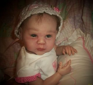Gabriel Reborn Doll Sculpt by Michelle Fagan OOAK Baby Girl Art Doll