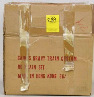 Gaines Gravy Train Custom HO Train Set