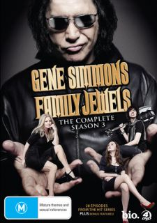 Gene Simmons Family Jewels Season 3 DVD 9315842041618
