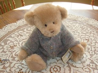 Ganz Cottage Collectibles Teddy Bear Gus MWT signed by artist