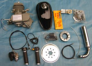 50cc 2 Stroke E Bike Engine Kit Gas Motor Motorized Power Cyclingr