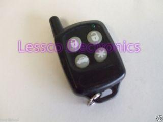 Galaxy Scytek 433MHz 433 4 Button Transmitter Remote