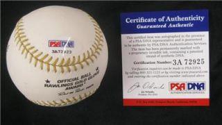 Fred Lynn Auto Signed Autograph Gold Glove Baseball PSA