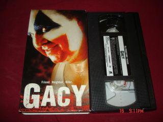 Gacy John Wayne Gacy Friend Neighbor Killer 2002 VHS Tape