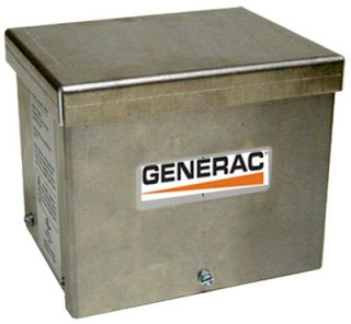 30A Aluminum Outdoor Power Inlet Box for Portable Generators