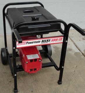 Coleman Powermate Maxa 5000 ER Portable Generator