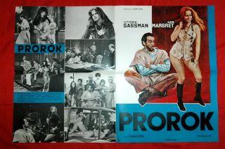 Prophet Gassman Ann Margret 1SHT RARE EXYU Movie Poster