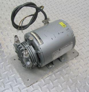 hours map gast 0211 v36a g8cx rotary vane vacuum pump
